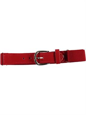 Civil Boys Age 1-8 Adjustable Rubber Belt Red