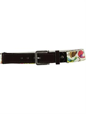 Civil Adjustable Rubber Belt Ecru Boys Age 1-8