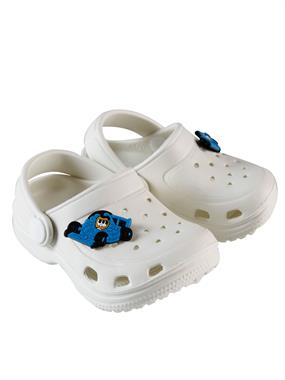 Civil 20-25 Baby Boy Slippers White Number