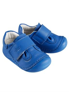 Vicco Men's Blue Leather Baby Shoes Saks First Step Number 19-23