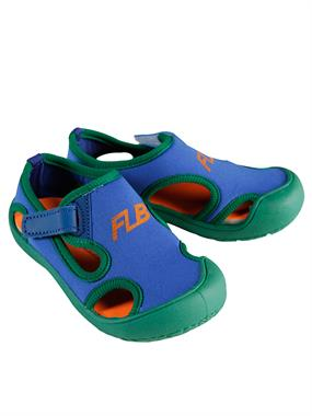 Flubber Kid Beach Shoes, Blue Number 24-30 Saks