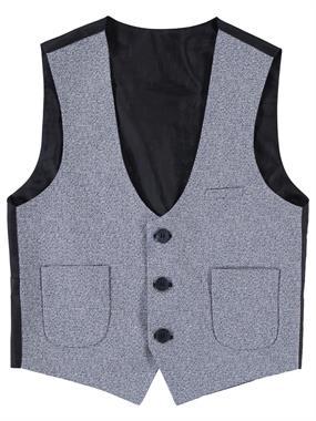 Civil Class Age 6-9 Boy Blue Vest
