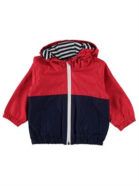 Civil Baby Baby Boy 6-18 Months Red Hooded Raincoat