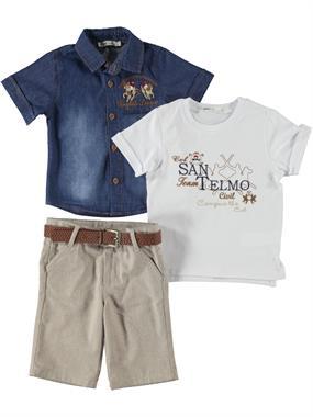 Civil Boys 2-5 Years Team Shirt Blue Boy
