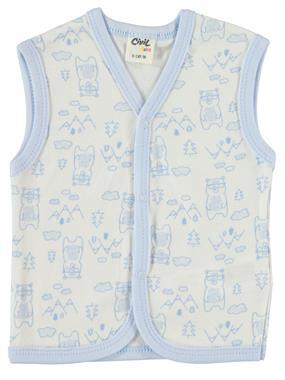 Civil Baby 0-9 Months Baby Vest Blue