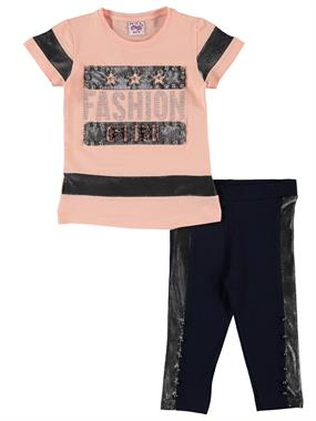Civil Girls The Salmon Suit Age 6-9 Girl Tight Spandex