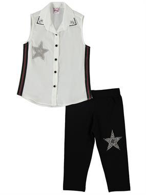 Civil Girls Girl Tight Spandex Suit Age 6-9 Ecru