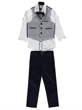 Civil Class 2-5 Years Navy Blue Suit Vest