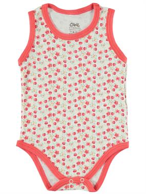 Civil Baby 3-24 Months Baby Girl Bodysuit With Snaps Tongue In Cheek