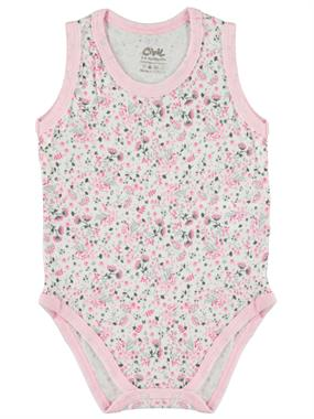 Civil Baby 3-24 Months Baby Girl Pink Bodysuit With Snaps