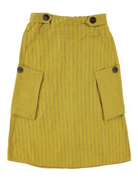 Civil Girls Mustard Skirt Girl Age 6-9