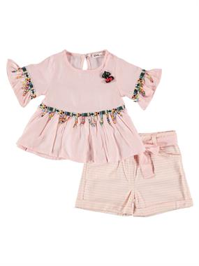 Civil Girls Powder Pink Team Girl Child Age 2-5
