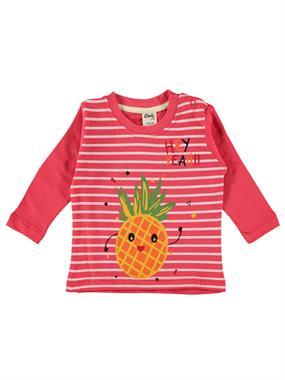 Civil Baby Erkek Bebek Sweatshirt 6-18 Ay Kırmızı