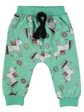 Civil Baby Kız Bebek Patiksiz Tek Alt 6-18 Ay Mint Yeşili
