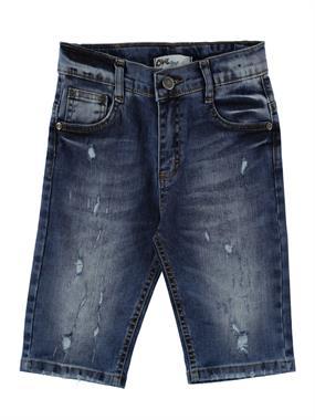 Civil Boys Age 6-9 Boy Blue Capri Jeans