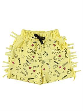 Civil Girls Age 6-9 Girl Yellow Boy Shorts