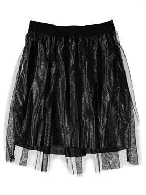 Civil Girls Black Gauzy Skirt Girl Child Age 6-9