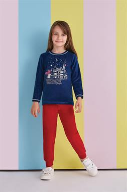RolyPoly Corduroy Suit Navy Blue Daydreamer Girl