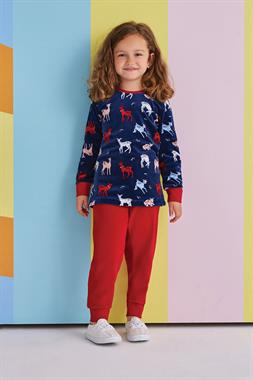 RolyPoly Gazelle Girl Navy Blue Corduroy Suit