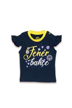 Fenerbahçe Baby Girl Licensed T-Shirt-Navy Blue