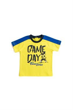 Fenerbahçe Baby Boy Licensed T-Shirt Yellow