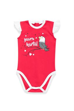 Beşiktaş Licensed Baby Girl Red Body
