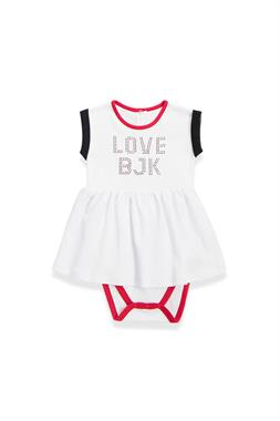 Beşiktaş Baby Girl White Body Licensed