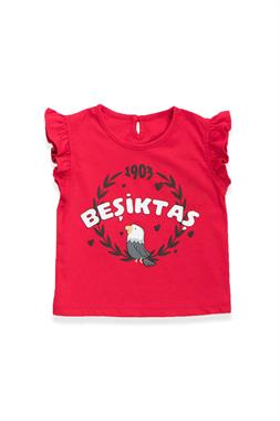 Beşiktaş Baby Girl Licensed T-Shirt Red