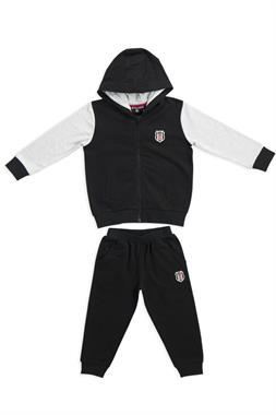 Beşiktaş Licensed Child Sweat Suit Black