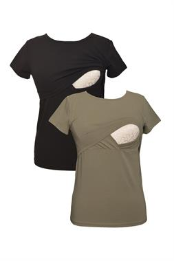 Luvmabelly Lullabelly MYRA2501_2505 Breastfeeding tshirt set