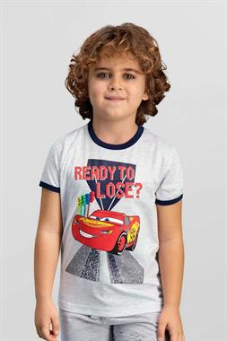 Cars Licensed Boy's Light Grey T-Shirt