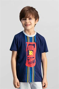 Cars Kids Licensed Navy Blue Men's T-Shirt