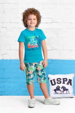 U.S. Polo Assn Kid Capri Team Of Licensed Petroleum