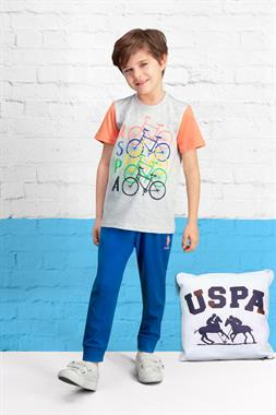 U.S. Polo Assn Team Licensed Boy Pyjamas Light Grey