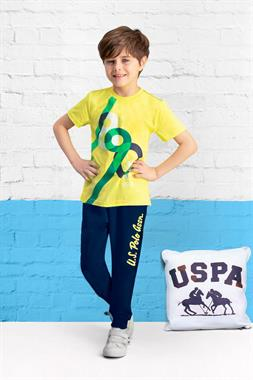 U.S. Polo Assn Lemon Yellow Underoos Licensed Team
