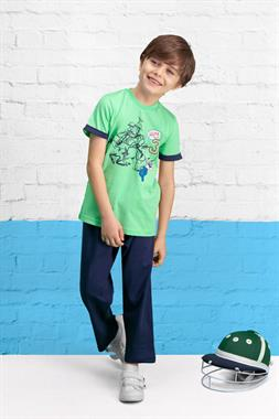 U.S. Polo Assn Yesil Licensed Boy Pyjamas Team