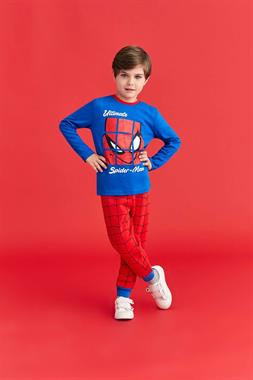 Spider Man Licensed Saks A Pajama Outfit Boy