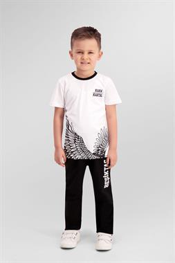 Beşiktaş Pajamas Licensed Team White Boy