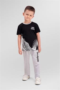 Beşiktaş Black Boy Pajamas Licensed Team