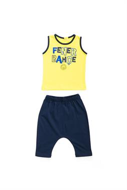 Fenerbahçe Bermuda Athlete Licensed Unisex Baby 2-Team Yellow