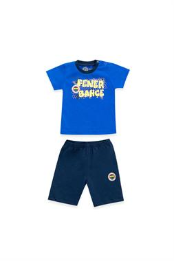Fenerbahçe Baby Boy Licensed T-Shirt Shorts 2-Team Saks