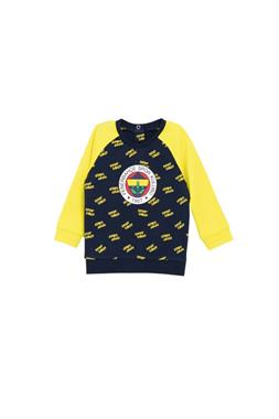 BEBEK Fenerbahce Sweatshirt Yellow Navy Blue Licensed
