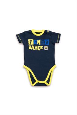 Fenerbahçe Navy Blue Licensed Unisex Baby Body