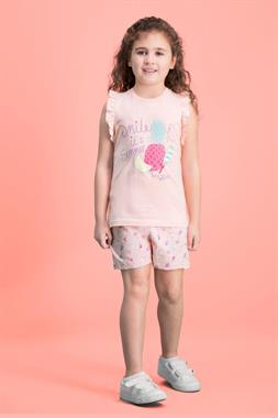 RolyPoly Summer Pearly Smile Team Girl Pink Boy Shorts