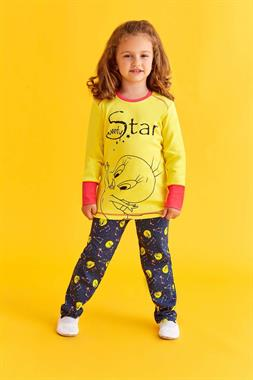 Tweety Licensed Girl Pajamas Boy In The Yellow Team