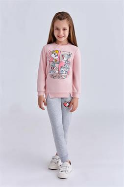 Bugs Bunny Powder Licensed Sweat Suit Girl