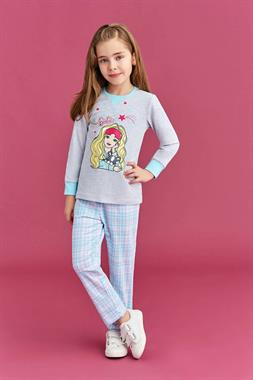 Barbie Light Grey Girl In A Pajama Outfit Licensed