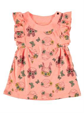 Kujju Cheerful Orange Girl Dresses Girls 6-18 Months Baby Girl Sperm