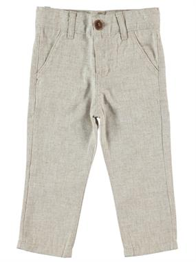 Civil Boys Beige Linen Pants Boy Age 2-5