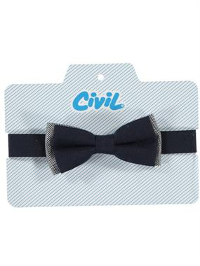 Civil Boy Navy Blue Bow Tie